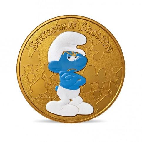 France 2021 - Schtroumpf grognon - médaille