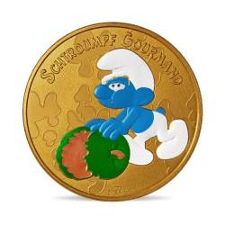France 2021 - Schtroumpf gourmand - médaille