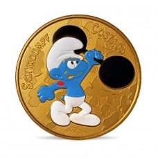 France 2021 - Schtroumpf costaud - médaille