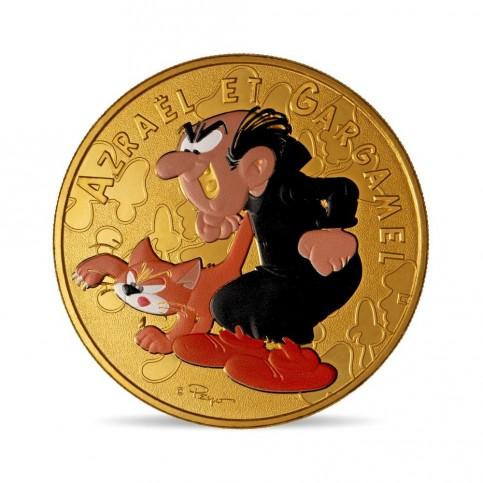 France 2021 - Schtroumpf Gargamel - médaille