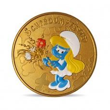 France 2021 - Schtroumpfette - médaille