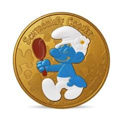 France 2021 - Schtroumpf coquet - médaille