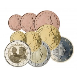 Luxembourg 2021 - série complète + 2 euros commémorative Duc