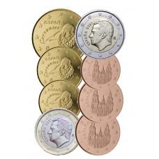 Espagne 2021 - série complète euro neuve