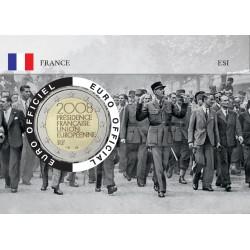 France 2008 DEGAULLE Coincard - Défilé de la Libération
