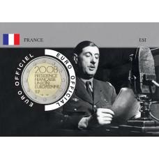 France 2008 DEGAULLE Coincard - L'Appel du 18 Juin