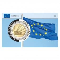 Lot de 3 Coincards Europe - 2€ présidence Européenne