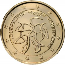 Finlande 2021 dorée à l'or fin 24 carats - 2€ commémorative