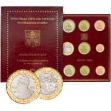 Vatican 2021 - Coffret Euro BU + 5 euros
