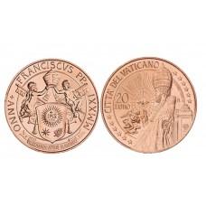 Vatican 2021 - 20 euros cuivre