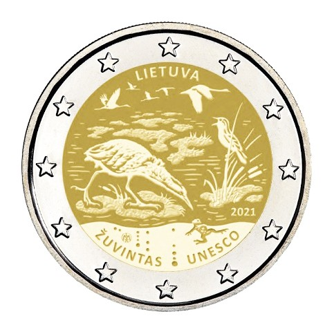 Lituanie 2021 - 2 euro commémorative UNESCO