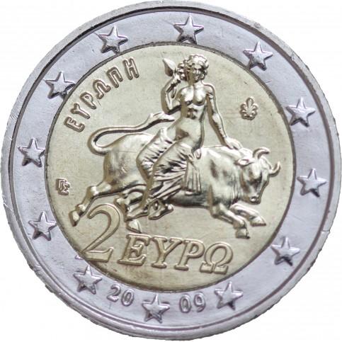 Grèce 2009 - 2 euro courante