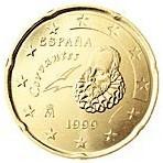 Espagne 20 Cents  1999