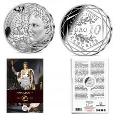 France 2021 - Napoléon 1er - 10 euros argent