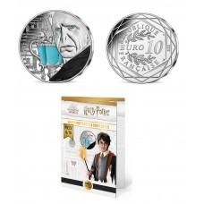 France 2021 - Harry Potter - La coupe de feu couleur - 10 euros argent