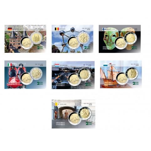 Série complète 2006 - 7 cartes commémoratives