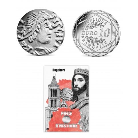 France 2019 - Dagobert - 10 euros argent