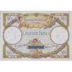 50 Francs - Luc Olivier Merson avec signature  - 1927-1930 - Qualité courante