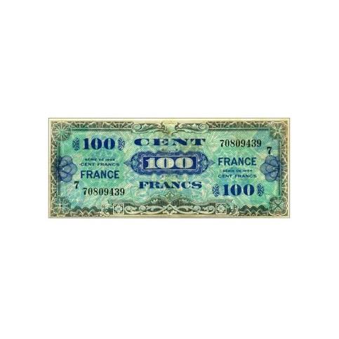 100 Francs - France au verso - 1945 - Belle qualité