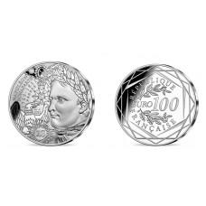 France 2021 - Napoléon 1er - 100 euros argent