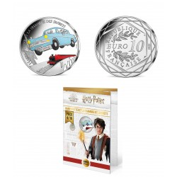 France 2021 - Harry Potter - La chambre des secrets couleur - 10 euros argent