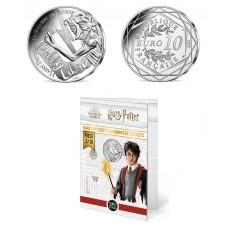 France 2021 - Harry Potter - La chambre des secrets - 10 euros argent