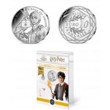 France 2021 - Harry Potter - L'école des sorciers - 10 euros argent