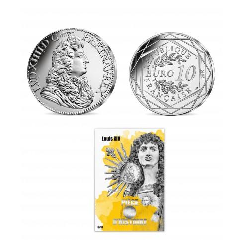 France 2019 - Louis XIV - 10 euros argent