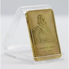 Henri IV - Lingot doré or 24 carats