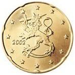 Finlande 20 Cents  2002
