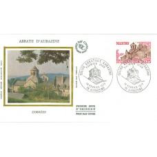 Enveloppe 1er jour - Abbaye d'Aubazine