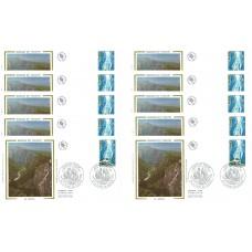 x10 enveloppes 1er jour - Gorges du Verdon