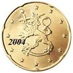 Finlande 20 Cents  2004