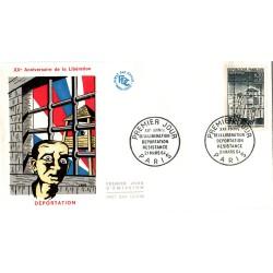 Enveloppe 1er jour - XXe anniversaire de la libération