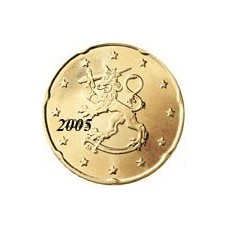 Finlande 20 Cents  2005