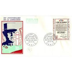 Enveloppe 1er jour - Appel du 18 juin 1940