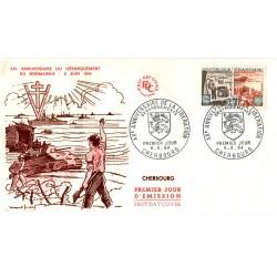 Enveloppe 1er jour - Débarquement de Normandie