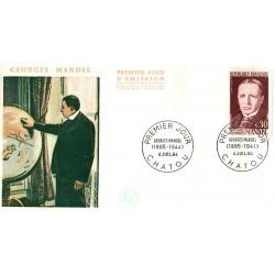 Enveloppe 1er jour - Georges MANDEL