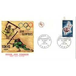 Enveloppe 1er jour - JO de Tokyo