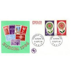 Enveloppe 1er jour - europa 1964