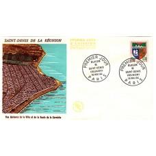 Enveloppe 1er jour - Saint Denis de la Réunion