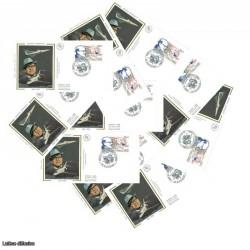 x10 enveloppes 1er jour - Marcel Dassault