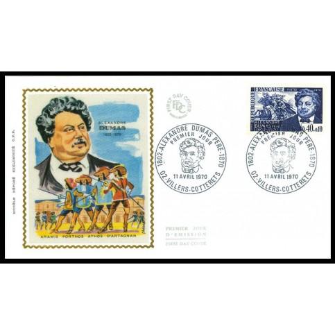Enveloppe 1er jour - Alexandre Dumas
