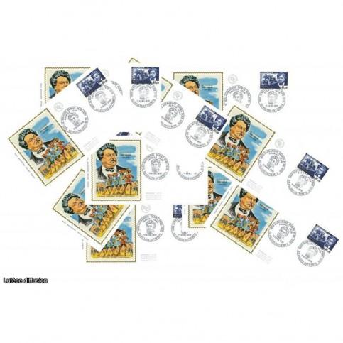 x10 enveloppes 1er jour - Alexandre Dumas