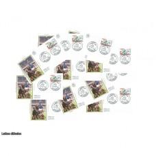 x10 enveloppes 1er jour - Rugby