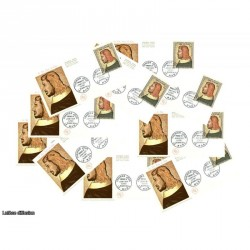x10 enveloppes 1er jour - Jean Le Bon