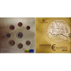 Lituanie 2015 - Coffret euro BU