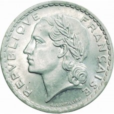 Cinq Francs LAVRILLIER