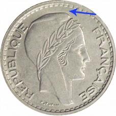 Dix Francs TURIN Petite Tête