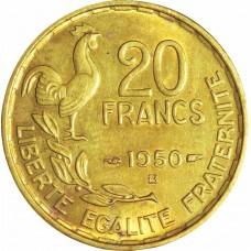 Vingt Francs Signature G. GUIRAUD